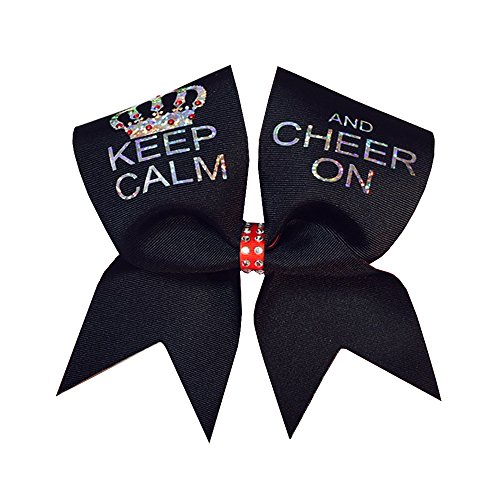 Chosen Bows Keep Calm and Cheer On Cheer Bow