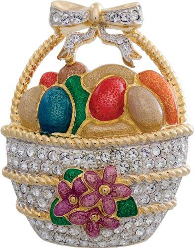 Swarovski crystal easter egg basket brooch ladies jewellery gift swarovski crystal easter egg basket brooch ladies jewellery gift negle Choice Image