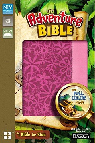 NIV, Adventure Bible, Imitation Leather, Pink, Full Color