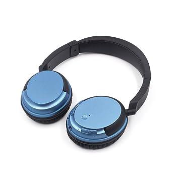 firstec y inalámbrica Bluetooth auriculares de diadema estéreo con cable auriculares con micrófono para Streaming de
