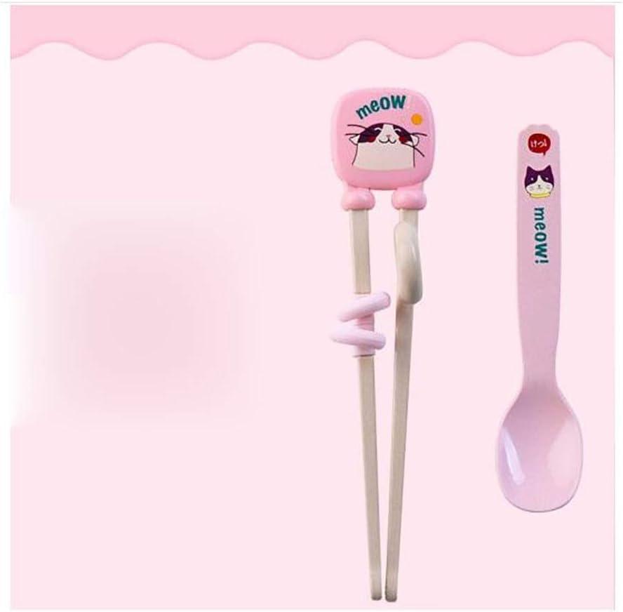 4pcs Durable Simple Colorful Practice Kid Chopsticks Flamingo Chopsticks for Boy