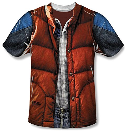 Back  (Marty Mcfly Back To The Future 3 Costume)