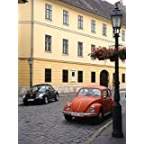 LAMINATED POSTER Beetle Volkswagen Car Budapest Street New Beetle Poster Print 24 x 36
