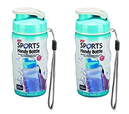 b316be9657 Lock & Lock 350ml Gym Sports Handy Bottle With Carry Strap Blue ...:  Amazon.co.uk: Kitchen & Home