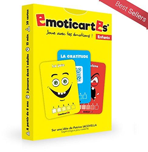 Emoticartes Enfants : des cartes pour aider l'enfant à comprendre et à apprivoiser leurs émotions