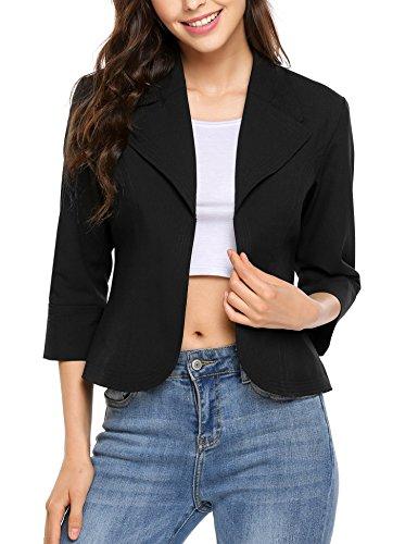 Womens 3/4 Sleeve Jacket - 4
