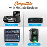 Pyle Compact UHF Wireless Microphone System-Pro