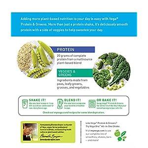 Vega Protein & Greens, Vanilla, 1.35 lb, 21 Servings