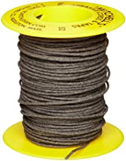 "Mitchell Abrasives 52 Round Abrasive Cord, Aluminum Oxide 150 Grit .055"" Diameter x 50"