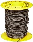 Mitchell Abrasives 52 Round Abrasive Cord, Aluminum Oxide 150 Grit .055'' Diameter x 50 Feet