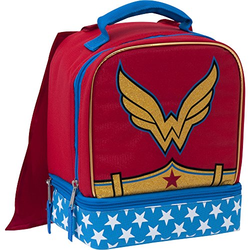 DC Superhero Girls Lunch Box with Cape