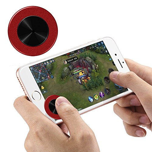 Bestdream Professional Joysticks for Mobile, Touch Screen Rocker Controller Mini Sucker Joypad for Smartphone Tablet Support Many Games