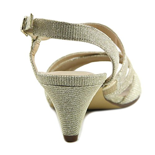 Lafayette Cradles Gold Open Classic Ankle Petals by Womens Walking Sparkle Toe Rose Strap RZXqn