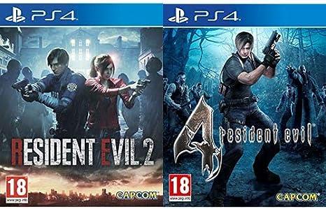 Resident Evil 2 - Edición Estándar & Evil 4 HD: Amazon.es: Videojuegos