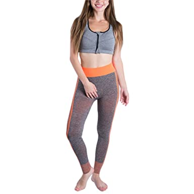 XFentech Hermosa Moda Pantalones de Chándal de Fitness de Yoga Sin ...