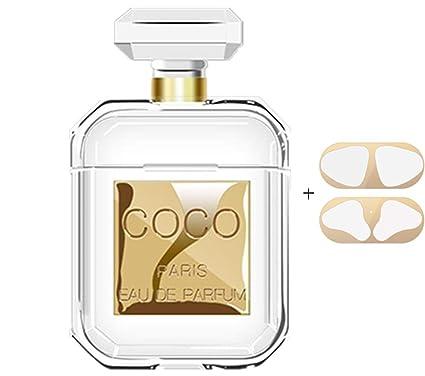 Amazon.com: Sunvy Airpods Funda para Mujer Perfume Botella ...