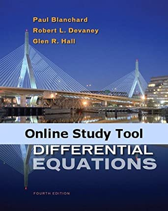 amazon com de tools for blanchard devaney hall s differential rh amazon com Manual Differential Equations Solutions differential equations blanchard 4th edition solutions manual