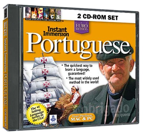 Instant Immersion Portuguese 2 CD-ROM Set (Jewel Case)