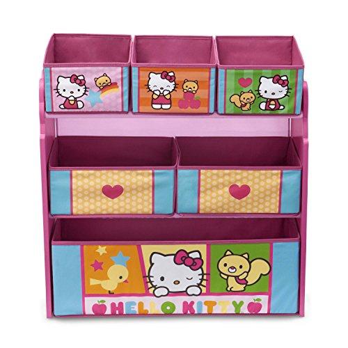 e0d359d7b Delta Children Multi-Bin Toy Organizer, Hello Kitty - Buy Online in ...