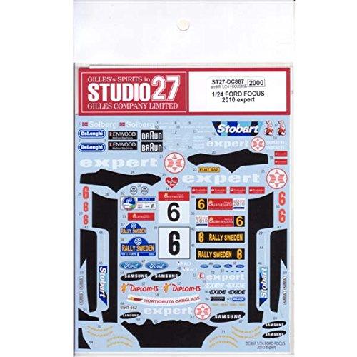 【STUDIO27/スタジオ27】1/24 フォード フォーカス 2010 expert
