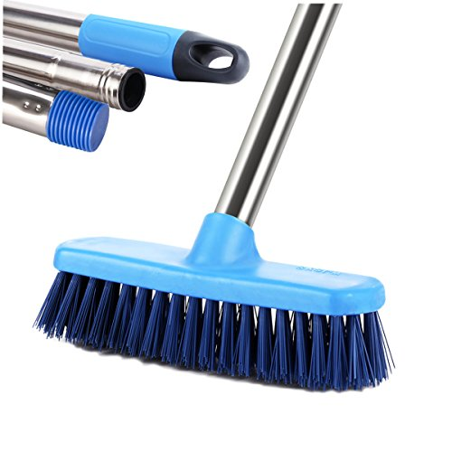 Cheap  MEIBEI Floor Scrub Brush with Long Handle-47.3