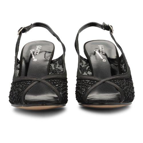 Footwear Sensation - Sandalias de vestir de sintético para mujer negro - negro