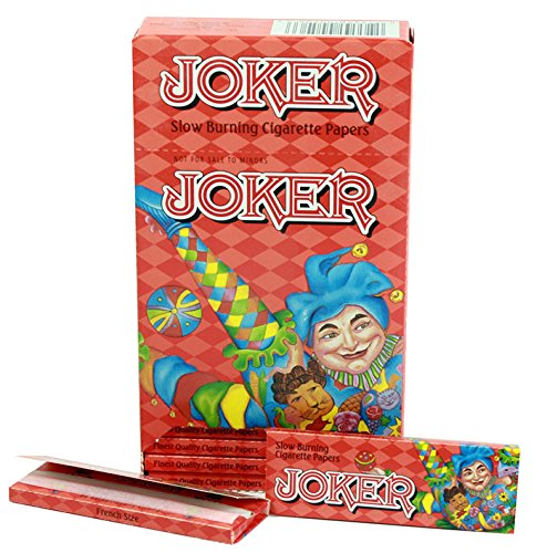 Joker Slow Burning Cigarette Papers 24 Booklets