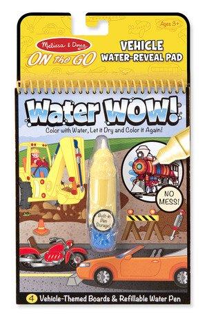 Melissa & Doug On The Go Water Wow Bundle Animals, Safari and Vehichles