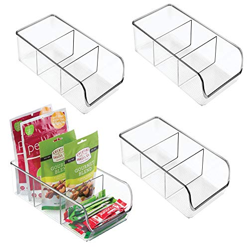 Pastic Food Packet Kitchen Storage Organizer Bin Caddy