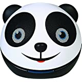 Zoo Tunes Compact Portable Bluetooth Stereo Speakers for MP3 Players, Tablets, Laptops etc. Panda Bear