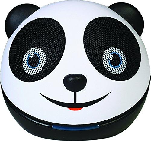 Price comparison product image Zoo Tunes Compact Portable Bluetooth Stereo Speakers for MP3 Players, Tablets, Laptops etc. Panda Bear