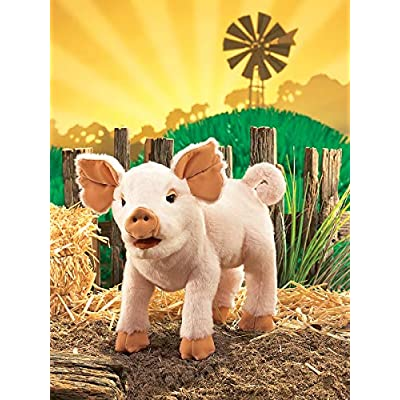 Folkmanis Piglet Hand Puppet: Toys & Games