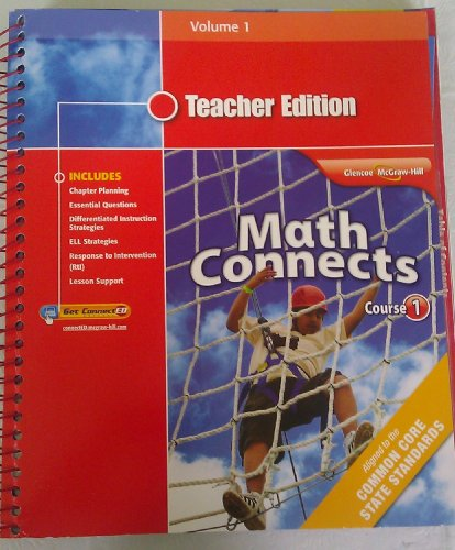 Math Connects Course 1 Teacher Edition Volume 1