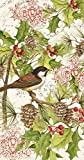 Ideal Home Range 16-Count Chickadee Sign Paper Guest Towel Napkins, Multicolored