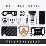 Armour Supply Co. RFID Blocking Wallet For Men With Money Clip, Multitool & Key Holder