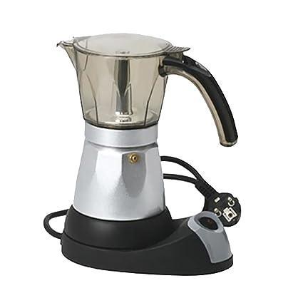Phenovo EU Plug Electric Coffee Maker Expresso Machine Italian Moka Stovetop 300ml