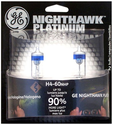 GE Lighting H4-60NHP/BP2 Nighthawk Platinum Headlights