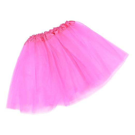 Falda de tutú de tres capas de tul para mujer de LLAni de 12 ...
