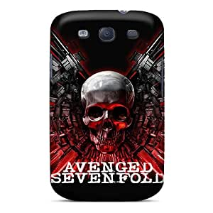 Samsung Galaxy S3 WwX17579DpxF Allow Personal Design Trendy Avenged Sevenfold Image Protective Hard Cell-phone Case -EricHowe