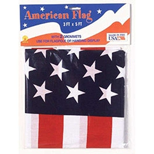 Rubie's Costume Co 3'X 5'American Flag-Pk60 (Pro Horror Costumes)