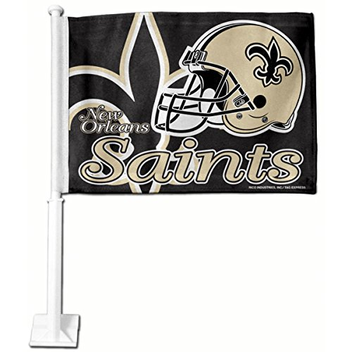 2 New Orleans Saints Car Flag **