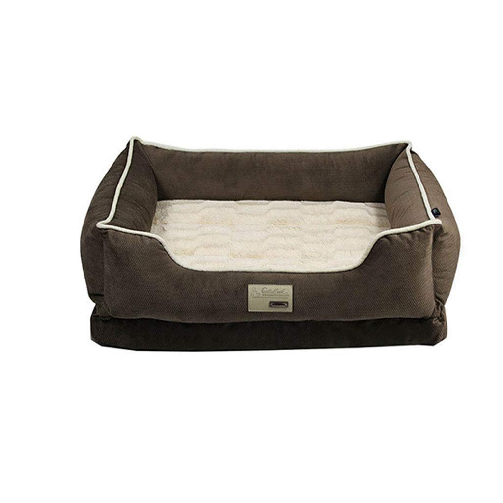 70x54x19cm Dog Nest, Dog Sofa, Removable Washable, Four Seasons Usable, Comfortable and Breathable, No Deformation, Antislip Teddy Kennel, for Small and Medium Large Dogs, Pet Nest, Dog Beds