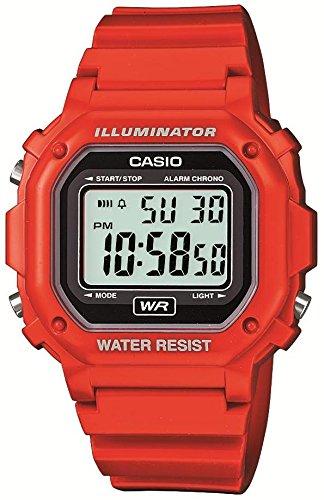 CASIO 腕時計   F-108WHC-4AJF 数显基础款 电子表