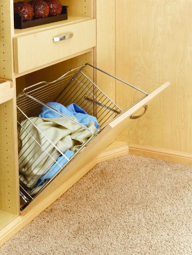 Rev-A-Shelf Tilt Out Hamper Basket, - Out Hamper Tilt