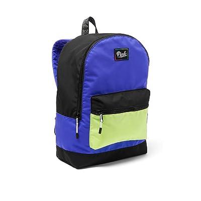 4d5c9f2f4720 Victoria Secret Pink NEW Everyday Backpack Color Matisse Blue Black ...