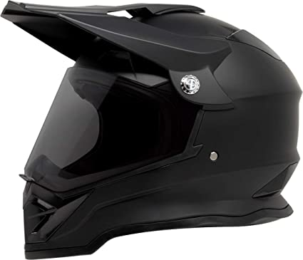 Dirt Bike Helmet With Visor >> Amazon Com Gdm Dk 650 Dual Sport Offroad Dirt Bike Mx Motocross