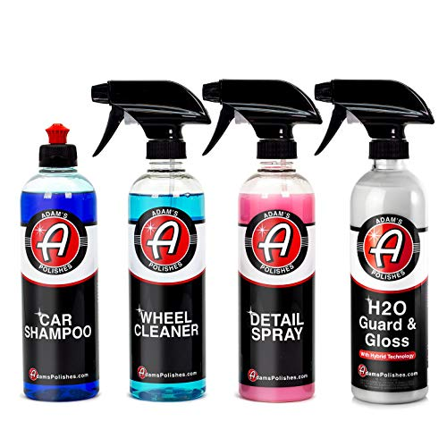 (Adam's 16oz Most Popular Kit - Our Top Selling Products Bundled Together - Clean, Shine, and Protect Your Vehicle )