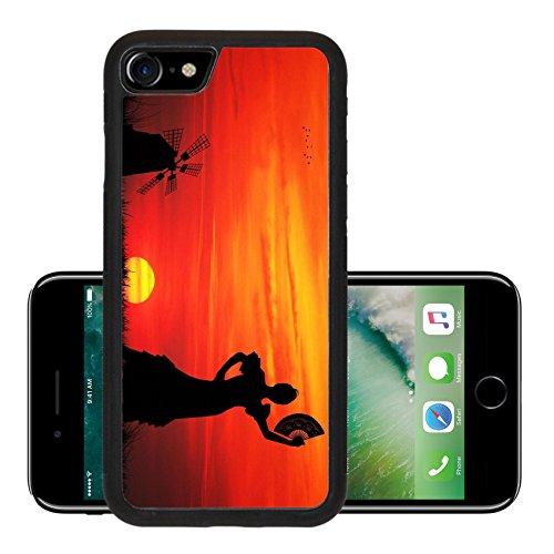 [Liili Premium Apple iPhone 7 iPhone7 Aluminum Snap Case spanish girl IMAGE ID 16857013] (Female Flamenco Dancer Costumes)