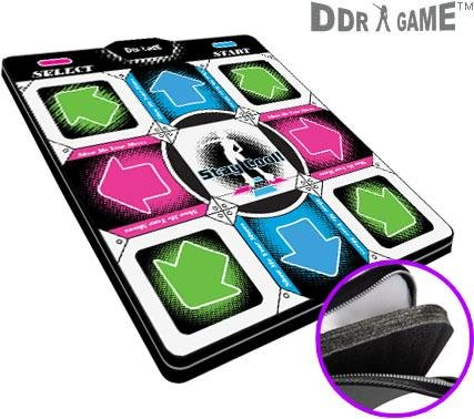 Dance Dance Revolution DDR Super Deluxe PS1 / PS2 dance pad w/1 in