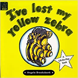 Book I've Lost My Yellow Zebra